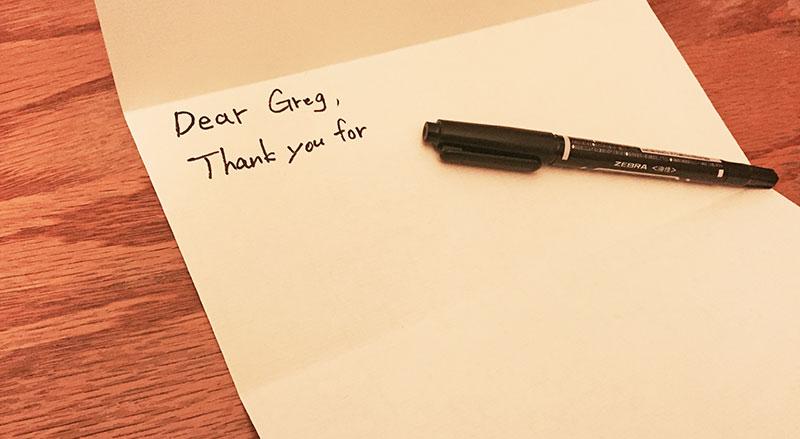 面接後にもう1押ししよう!Thank You Letterの書き方