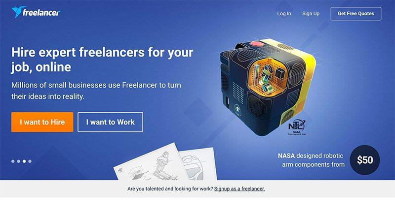 フリーランスの海外案件探しはFreelancer.comで決まり!海外就職のための英語実績作りにも最適!